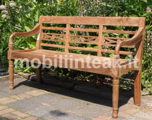 Panchina in teak da giardino 3 posti_png